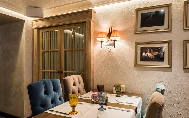 Ресторан. ресторан из проекта Ресторан грузинской кухни в центре города Санкт-Петербурга, фото №78522