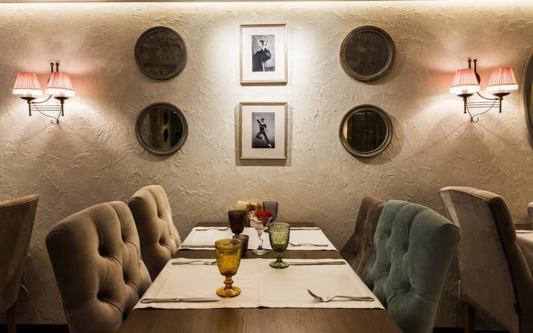 Ресторан. ресторан из проекта Ресторан грузинской кухни в центре города Санкт-Петербурга, фото №78525