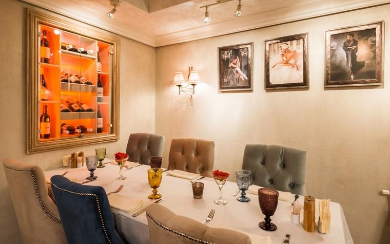 Ресторан. ресторан из проекта Ресторан грузинской кухни в центре города Санкт-Петербурга, фото №78526