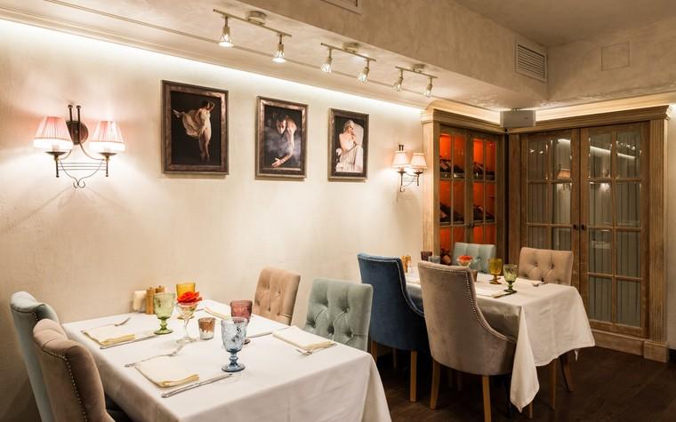 Ресторан. ресторан из проекта Ресторан грузинской кухни в центре города Санкт-Петербурга, фото №78528