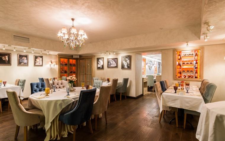 Ресторан. ресторан из проекта Ресторан грузинской кухни в центре города Санкт-Петербурга, фото №78529