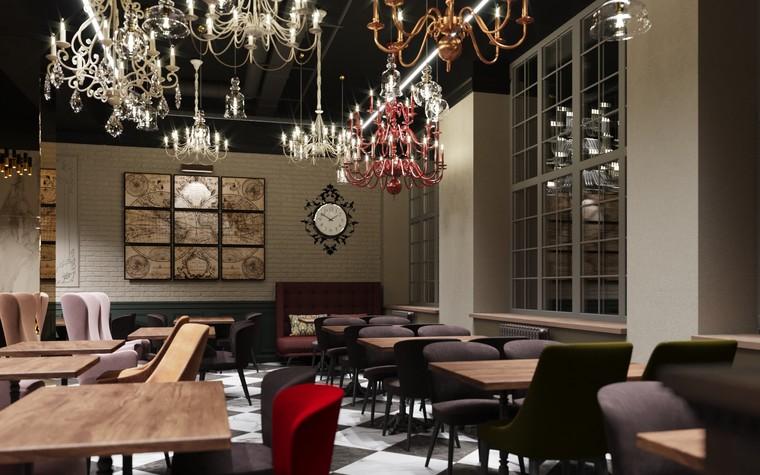 Ресторан. ресторан из проекта Ассамблея, фото №104085