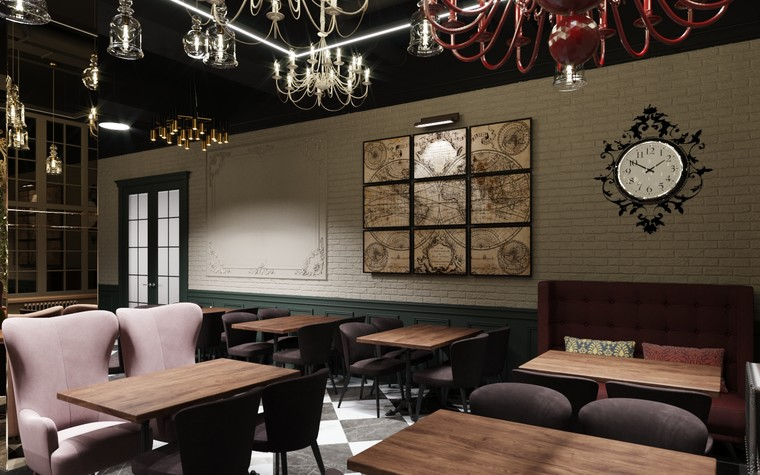 Ресторан. ресторан из проекта Ассамблея, фото №104089