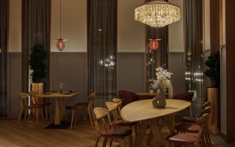 Ресторан. ресторан из проекта Shagal, фото №104132