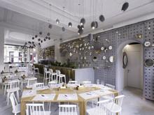 дизайн ресторана, кафе, бара Дроздов и партнеры