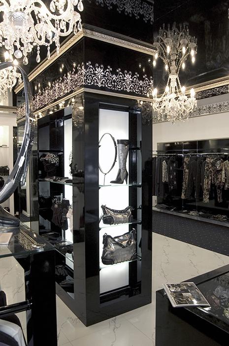 Дизайн интерьеров бутиков одежды