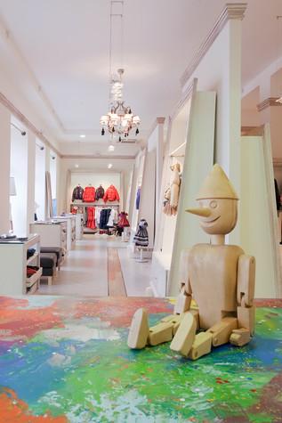 Торговая зона. торговые зоны  из проекта «Dolche Stellina» галерея детской одежды, фото №75235