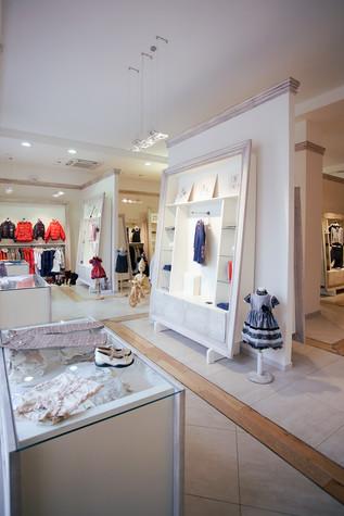 Торговая зона. торговые зоны  из проекта «Dolche Stellina» галерея детской одежды, фото №75236