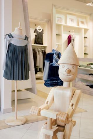 Торговая зона. торговые зоны  из проекта «Dolche Stellina» галерея детской одежды, фото №75239