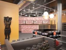 Торговая зона «ТЦ «Avia Park» Магазин  спортивного питания 5LB,  площадь  200,0м2 », торговые зоны  . Фото № 29162, автор Алексеева Ольга