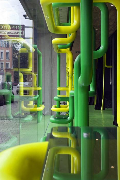 Фото витрины  Торговая зона