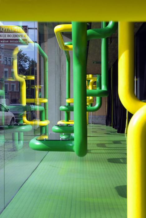 Торговая зона «», витрины , фото из проекта